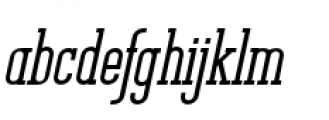 Unknown Caller BTN Extra Bold Oblique Font LOWERCASE