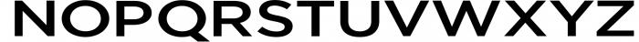 Uniclo Wide Sans Family Font 10 Font UPPERCASE