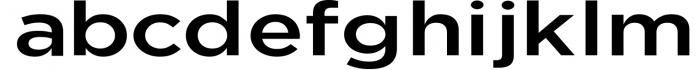 Uniclo Wide Sans Family Font 10 Font LOWERCASE