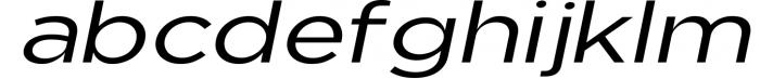 Uniclo Wide Sans Family Font 1 Font LOWERCASE