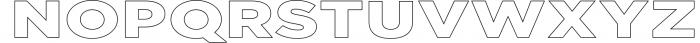Uniclo Wide Sans Family Font 2 Font UPPERCASE