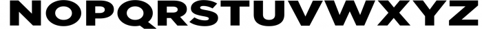 Uniclo Wide Sans Family Font 4 Font UPPERCASE
