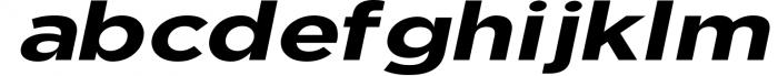 Uniclo Wide Sans Family Font 6 Font LOWERCASE