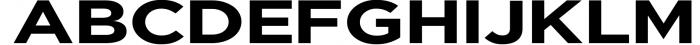 Uniclo Wide Sans Family Font 8 Font UPPERCASE
