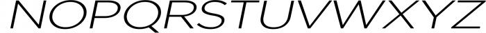Uniclo Wide Sans Family Font 9 Font UPPERCASE