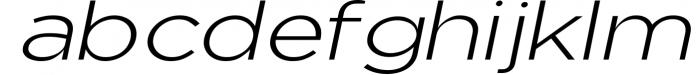 Uniclo Wide Sans Family Font 9 Font LOWERCASE