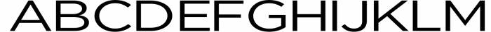 Uniclo Wide Sans Family Font Font UPPERCASE