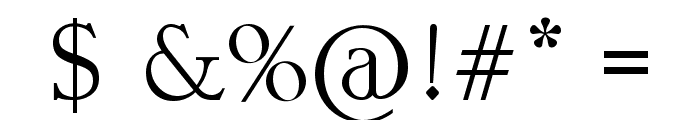 UNEARTHED Font OTHER CHARS