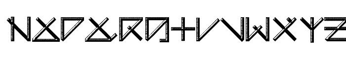 UNEARTHED Font UPPERCASE