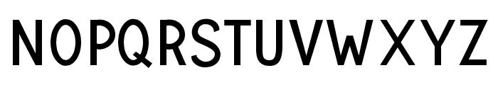 UNIVERSAL SANS PERSONAL USE Regular Font UPPERCASE