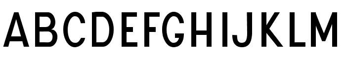 UNIVERSAL SANS PERSONAL USE Regular Font LOWERCASE