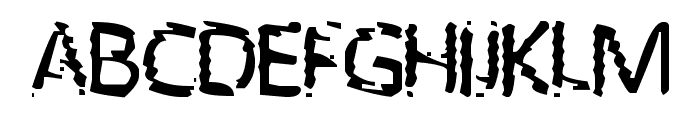 UNKNOWN Font UPPERCASE