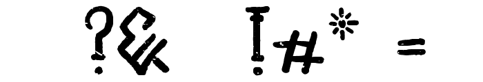 Unai Native Native Font OTHER CHARS