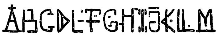 Unai Native Native Font UPPERCASE