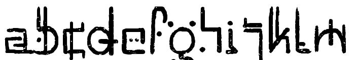 Unai Native Native Font LOWERCASE