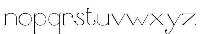 Unbalanced Font LOWERCASE