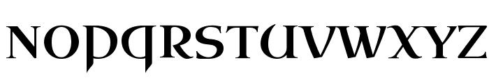 Uncial Antiqua Font UPPERCASE