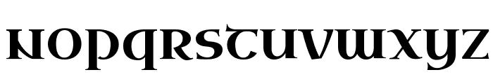 Uncial Antiqua Font LOWERCASE