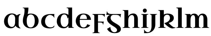 UncialAntiqua-Regular Font LOWERCASE