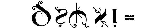 UncialeOrnamentale Font OTHER CHARS