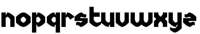Uncopyrightable Font LOWERCASE