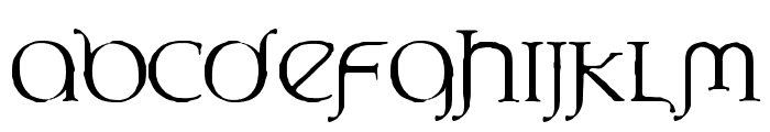 UnderWorld Font LOWERCASE