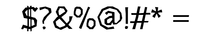 Underdog Font OTHER CHARS