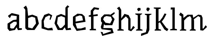 Underdog Font LOWERCASE