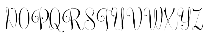 Undergone Personal Use Font UPPERCASE