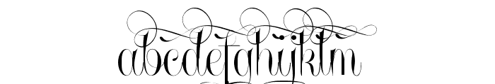Undergone Personal Use Font LOWERCASE