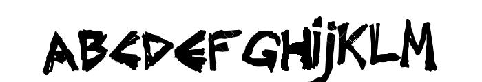 Underground Effect Font LOWERCASE