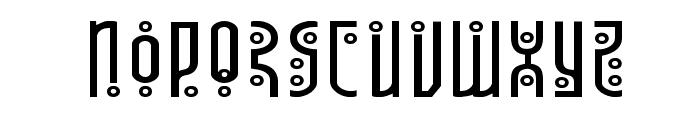 Underground Rose Expanded Font LOWERCASE