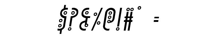 Underground Rose Italic Font OTHER CHARS