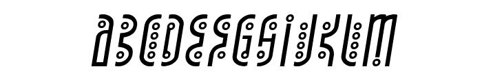 Underground Rose Italic Font LOWERCASE