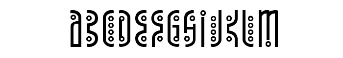 Underground Rose Font UPPERCASE