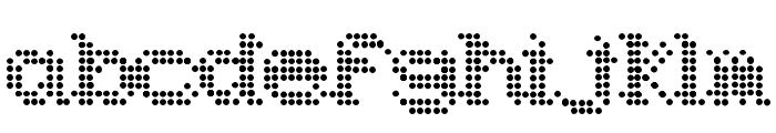 Underworld Odd Font LOWERCASE