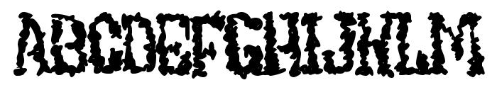 UndieCrust Font UPPERCASE