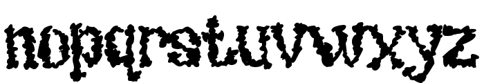 UndieCrust Font LOWERCASE