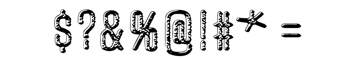Unfinished Sympathy Font OTHER CHARS