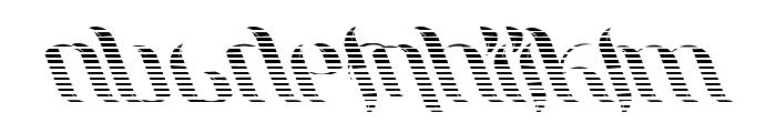UniLeaf Italic Font UPPERCASE