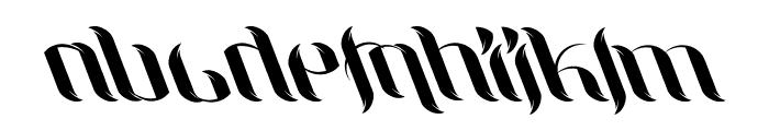 UniLeaf Italic Font LOWERCASE