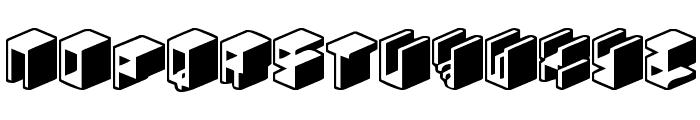 Unicode 0024 Font LOWERCASE