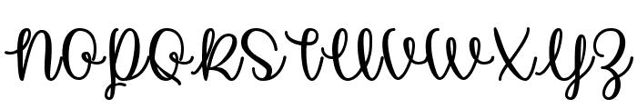Unicorn Calligraphy Font UPPERCASE