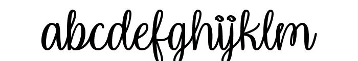 Unicorn Calligraphy Font LOWERCASE