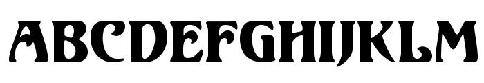 Unicorn Regular Font LOWERCASE