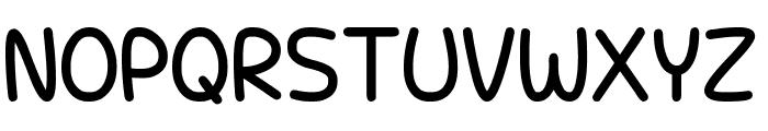 Unicorn Scribbles Font UPPERCASE