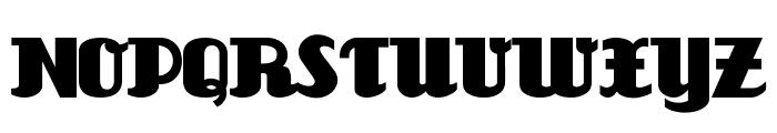 Unicorn Font UPPERCASE