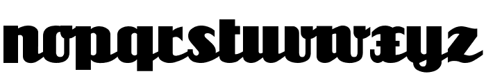 Unicorn Font LOWERCASE
