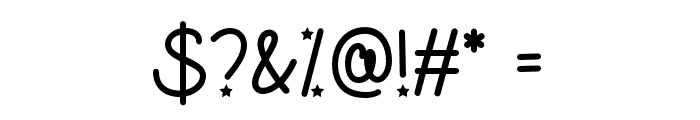 UnicornsareAwesome Font OTHER CHARS