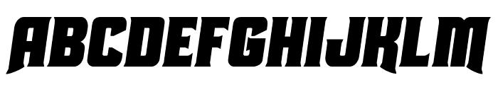 Union Gray Condensed Semi-Italic Font LOWERCASE
